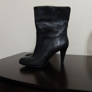 Michael Kors leather booties. Size 7